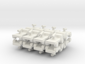 8 Armed Pickup Technical x16 in White Natural Versatile Plastic