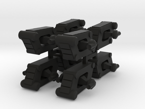 8 Scout Tank x8 in Black Strong & Flexible