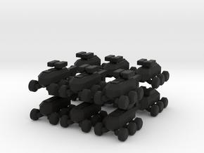 8 MULE Robot x12 in Black Strong & Flexible