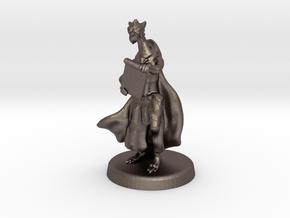 Ajrezai (Dragonborn Warlock) in Polished Bronzed Silver Steel