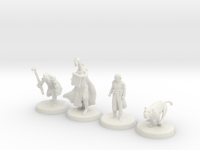 D&D Minis (Set one) in White Strong & Flexible