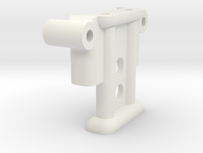 3165 Truck Column 3119 in White Natural Versatile Plastic