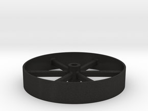 Flywheel_8ft in Black Acrylic