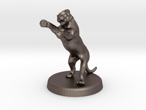Cora Faral (Tigress - Feral State) in Polished Bronzed Silver Steel