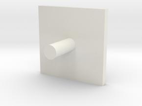 16 Version 2 in White Natural Versatile Plastic