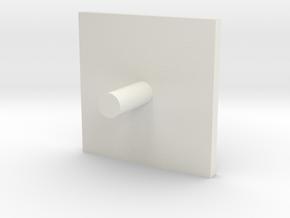 Capuchon 19 in White Natural Versatile Plastic