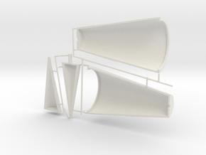 4 of 6 (Auto gyro) in White Natural Versatile Plastic