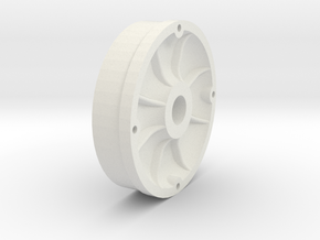 9935 wheel center 9625 in White Natural Versatile Plastic