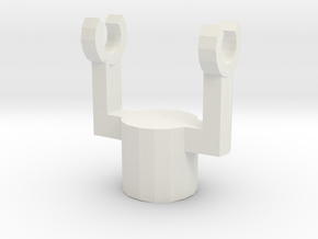 Swivel Holder in White Strong & Flexible