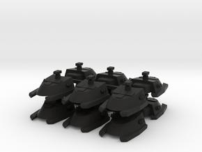 7-tank x12 in Black Strong & Flexible
