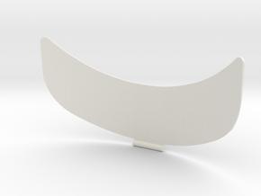 Flap for Mark in White Natural Versatile Plastic