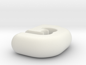 Logo 3D Future in White Natural Versatile Plastic