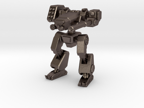 Terran Combat Walker in Polished Bronzed Silver Steel