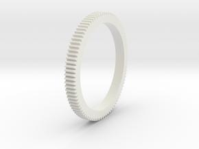 camera gears in White Natural Versatile Plastic