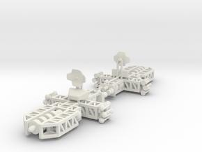 8 Long Range x2 in White Natural Versatile Plastic