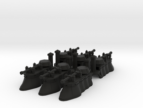 Gothic Hover Tank x6 in Black Strong & Flexible