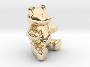 Nounours - Teddy Bear in 14K Yellow Gold