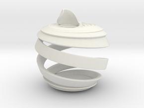 DnApple in White Natural Versatile Plastic