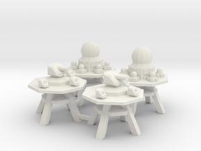 9 SeaFort 3&4 in White Natural Versatile Plastic