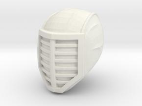 ninja head 1 in White Natural Versatile Plastic
