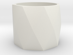 napkin ring in White Natural Versatile Plastic