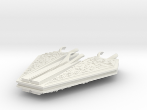 M-Ships Faction 1 Dreadnought in White Strong & Flexible
