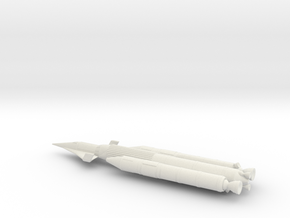 NASC Dynasoar Booster in White Natural Versatile Plastic