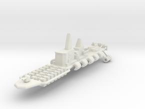 9 Air Cruiser in White Natural Versatile Plastic