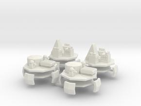 9 Air Fort 1&2 x4 in White Natural Versatile Plastic