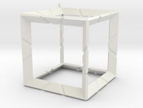 kubus in White Natural Versatile Plastic