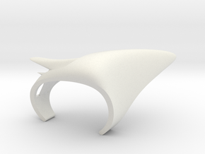 Vertebral in White Natural Versatile Plastic