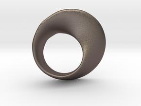Möbius ring in Stainless Steel