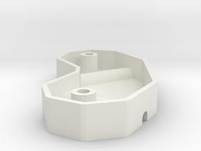 Reprap frame vertex mold in White Natural Versatile Plastic