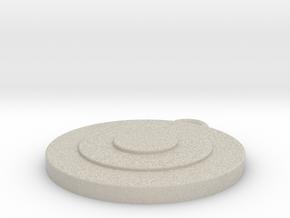Target 2 in Sandstone