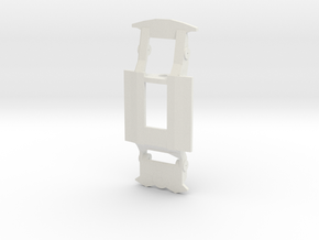 718mkIII in White Natural Versatile Plastic