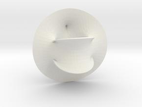 Fermat/K3 Surface in White Natural Versatile Plastic
