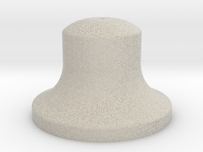 "1"" Scale Bell in Natural Sandstone"