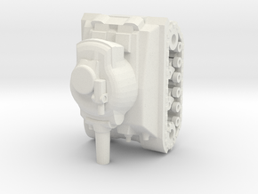 ww2 tank pawn in White Natural Versatile Plastic