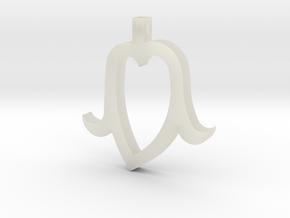 Heart Head mini in Transparent Acrylic