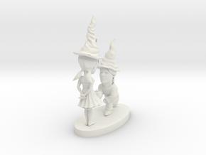 hollow gnomes in White Natural Versatile Plastic