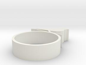 pien vogeltje 6mm in White Natural Versatile Plastic