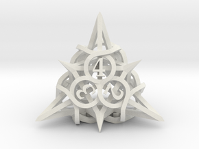 Thorn d4 in White Natural Versatile Plastic
