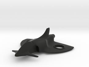 Scimitar in Black Strong & Flexible