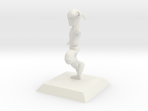 NINJA character from Bruce videogame in White Natural Versatile Plastic