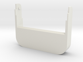 Business Card Holder Back in White Natural Versatile Plastic