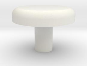 Bolt_B in White Natural Versatile Plastic