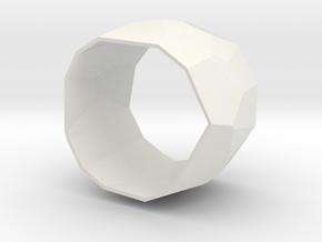 facets 1 in White Natural Versatile Plastic