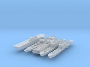 1:6000 Fleet in Frosted Ultra Detail