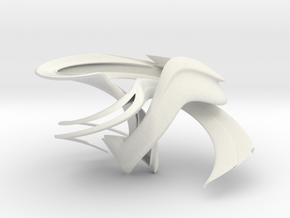 lida 1 in White Natural Versatile Plastic
