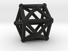Tetrakishexahedron in Black Strong & Flexible